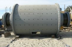 Ball mill of dry grinding