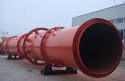 Single drum rotary dryer